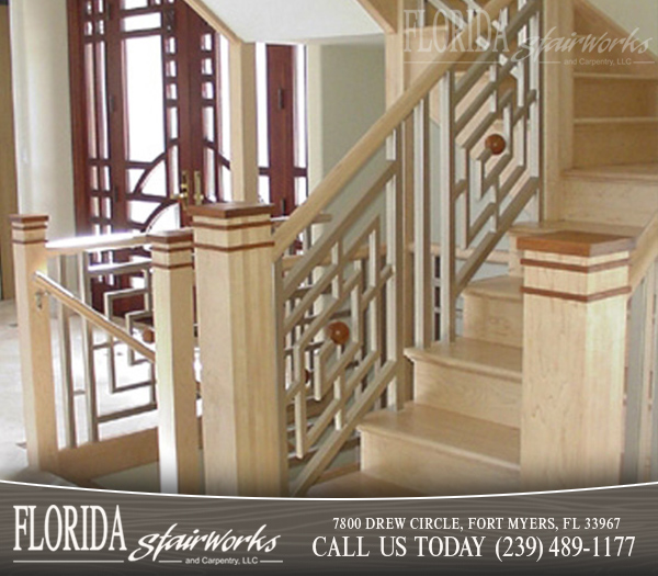 Contemporary Stairways And Staircases In Cape Coral