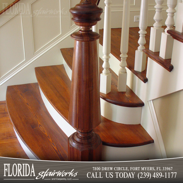 Reclaimed Materials Stairways in Cape Coral FL