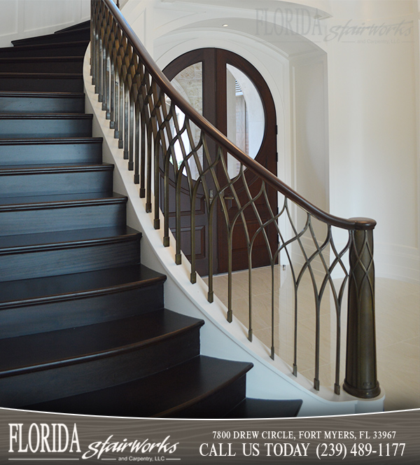 Designer Stairways in Ft Myers Florida