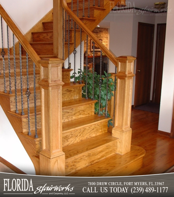 Red Oak Stairways And Staircases In Fort Myers