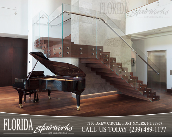 Stairways and Staircases in Sanibel Florida