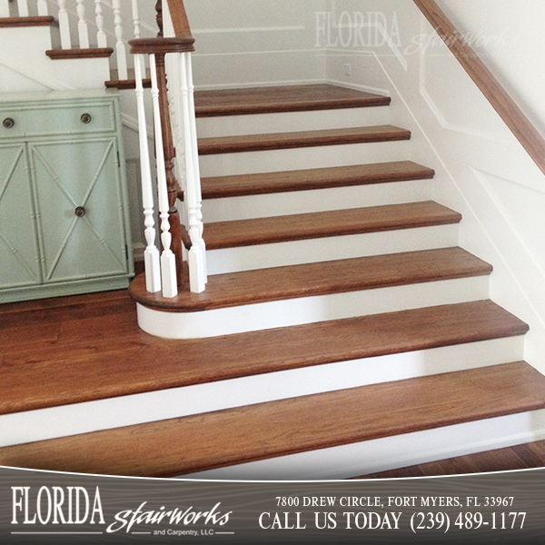 Hickory Stairways in Marco Island Florida