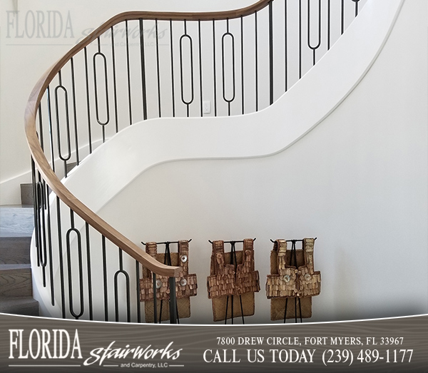Stairway Balusters in Marco Island Florida