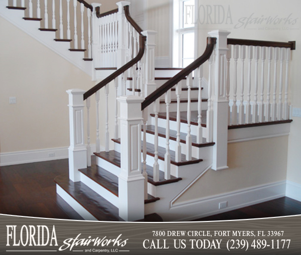 Traditional Stairways in Marco Island Florida