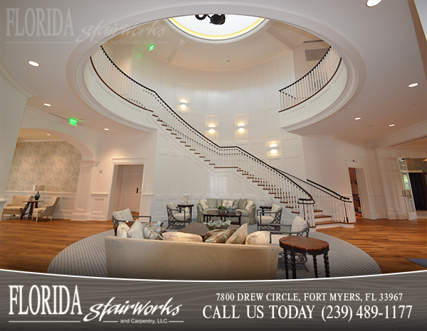 Grand Stairways in Sarasota Florida
