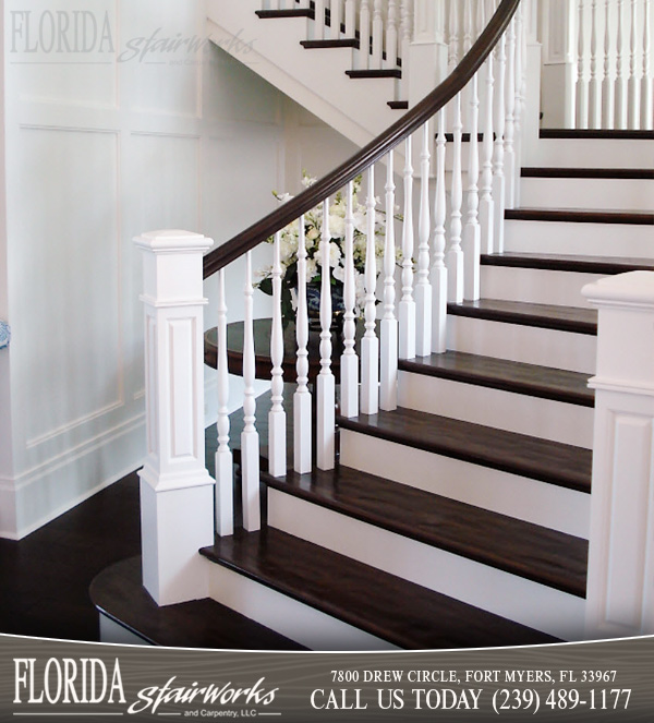 Wood Stairways in Sarasota Florida