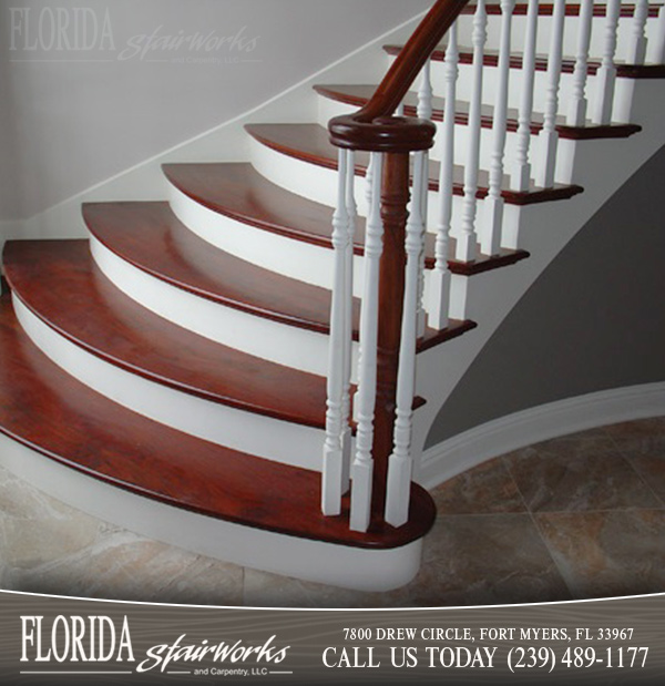 Brazilian Cherry Stairways And Staircases In West Palm Beach
