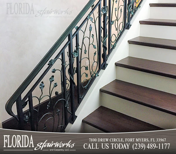 Custom Stairways in West Palm Beach Florida