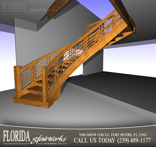 Stairway Design and Layout in West Palm Beach Florida