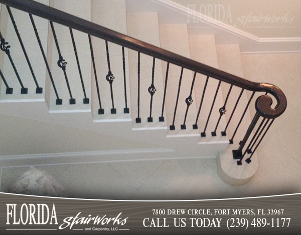 Stairway Railings in West Palm Beach Florida
